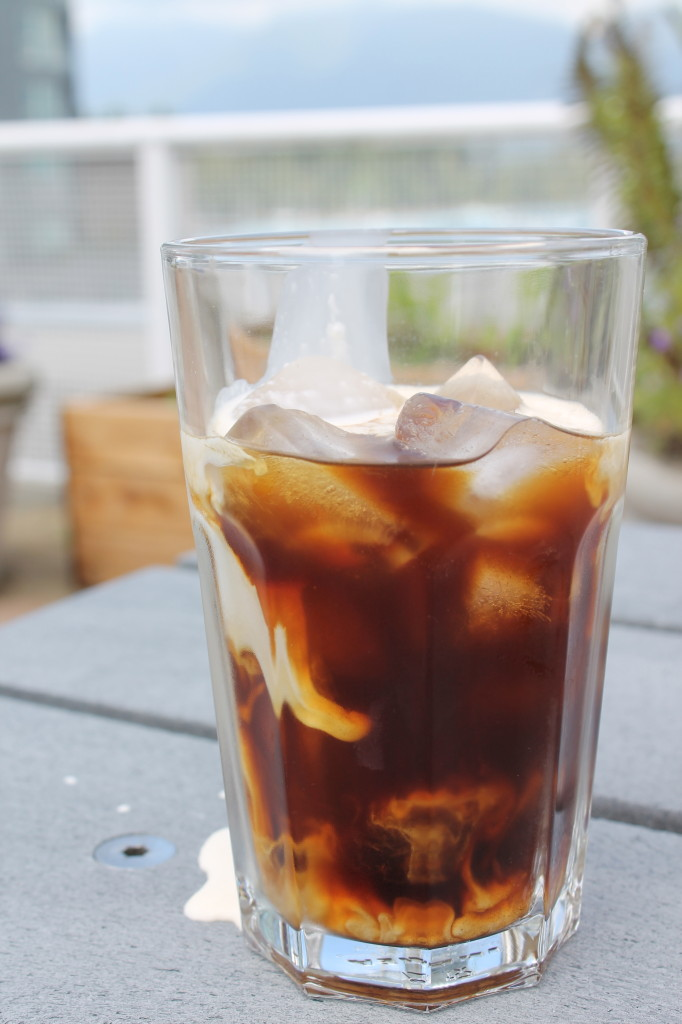 Cold-Brewed Ice Coffee