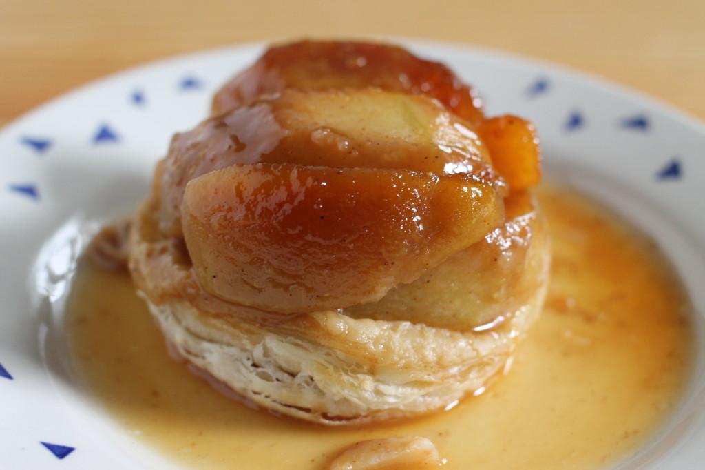 Pear, Apple & Quince Tarte Tatin with Criollo Salted Caramel Liqueur ...