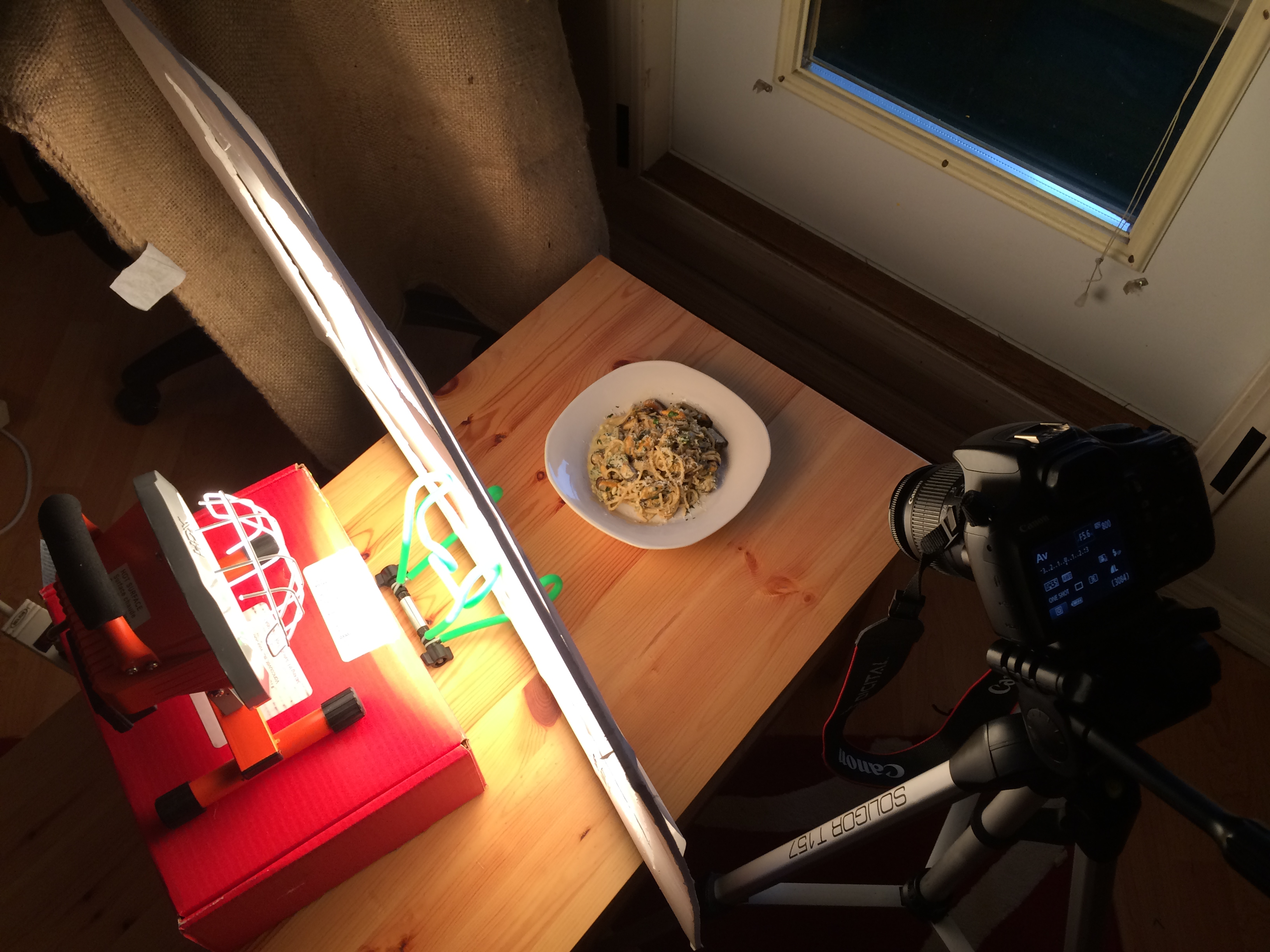 My DIY $20 Lighting Kit for Food Photography - Cooking By ...