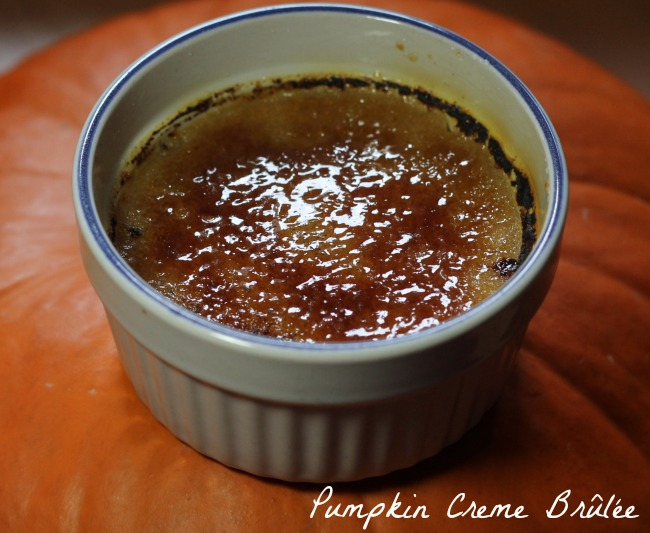 Pumpkin Creme Brûlée with Maple Syrup - Cooking By Laptop