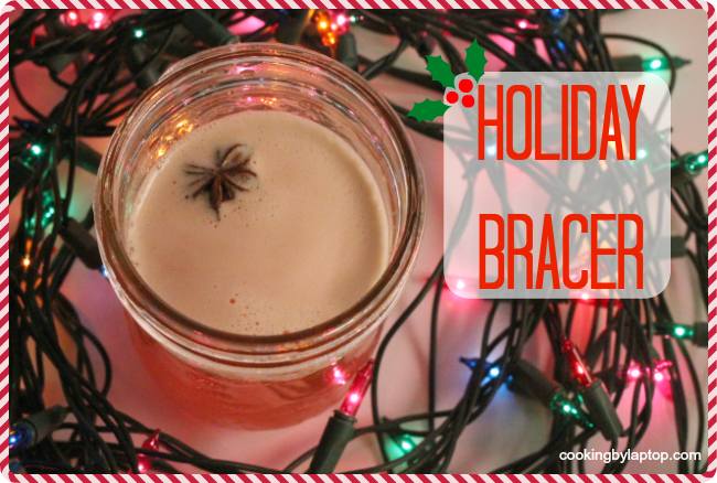 holiday bracer cocktail
