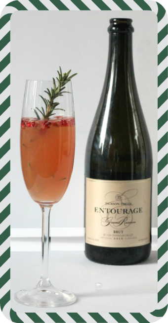 sparkling christmas cocktail jackson triggs