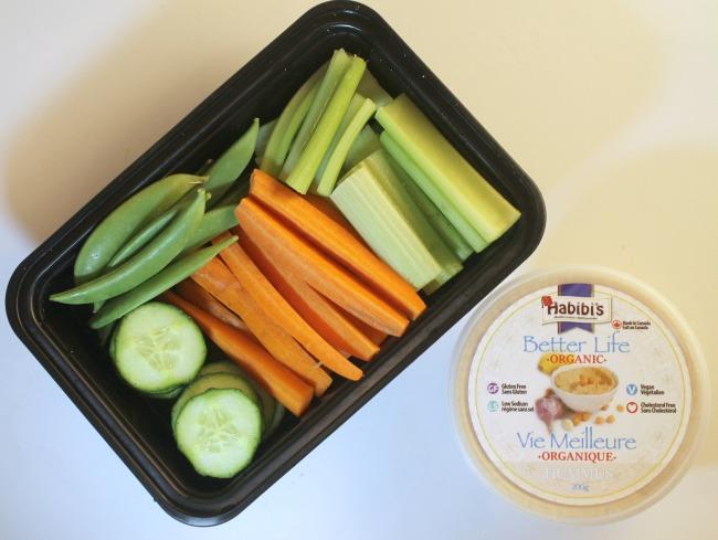 habibis hummus vegetables