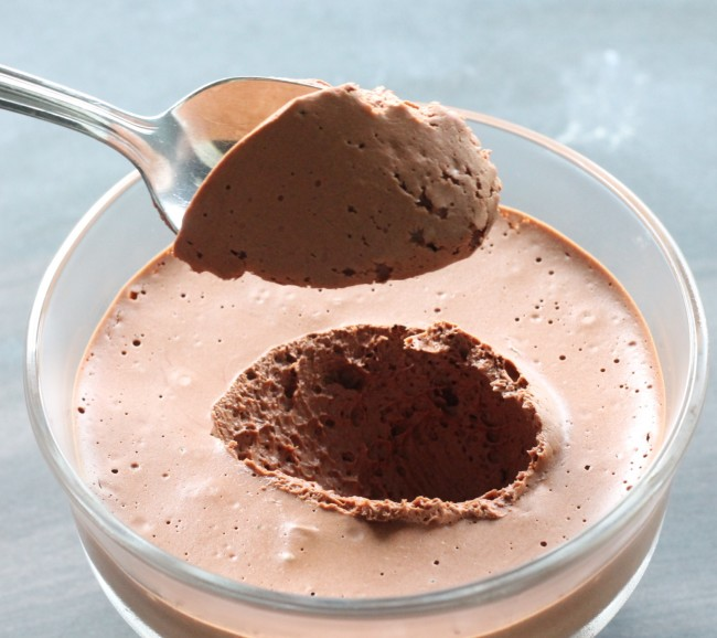 Vegan Chocolate Mousse #Aquafaba - Cooking By Laptop