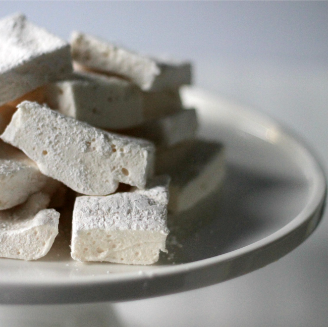 Homemade Marshmallows Cooking By Laptop