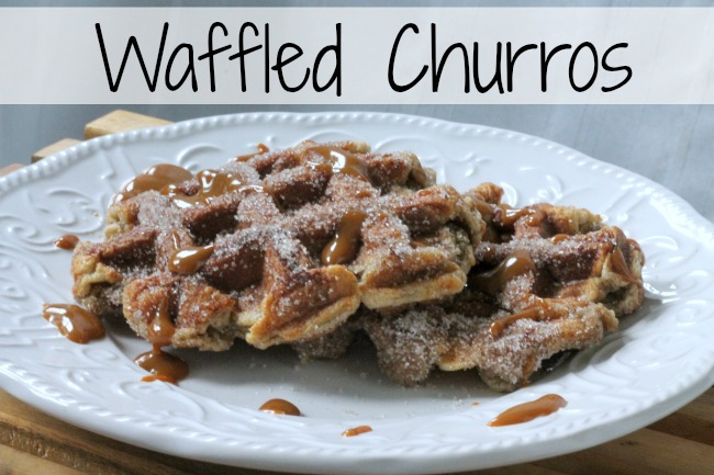 waffled churros