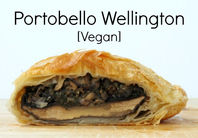 portobello wellington vegan