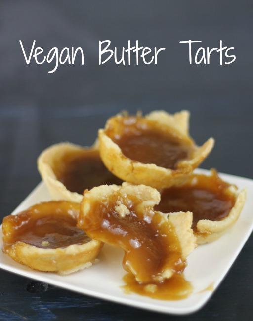 vegan butter tarts