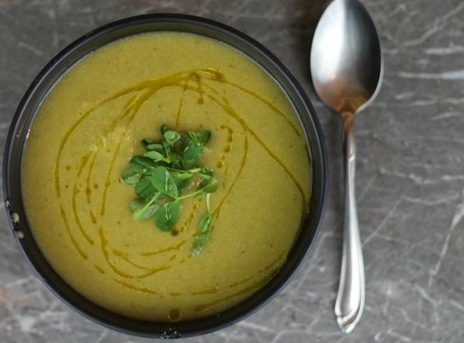 Green Spring Soup #Vegan