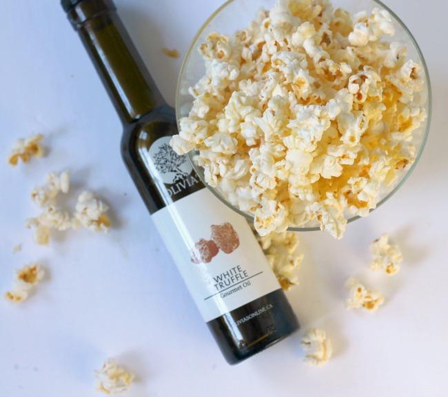 truffle popcorn