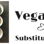 Vegan Egg Substitutes