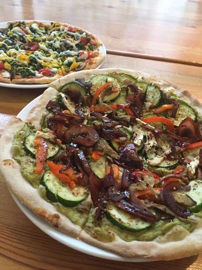 vegan pizza rocky mountain flatbread