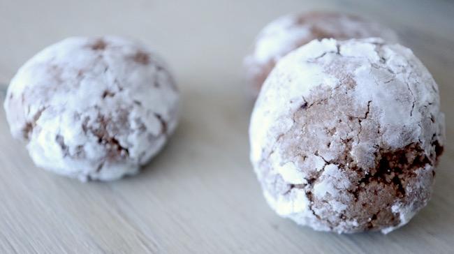 Amaretti Cookies {Vegan}