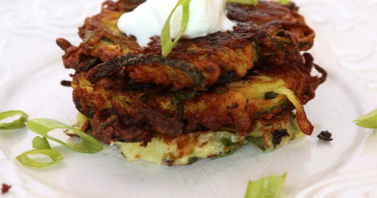 Zucchini Fritters {Vegan, Gluten-Free}