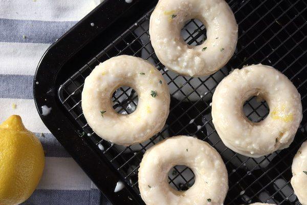 Lemon Donuts {Vegan}