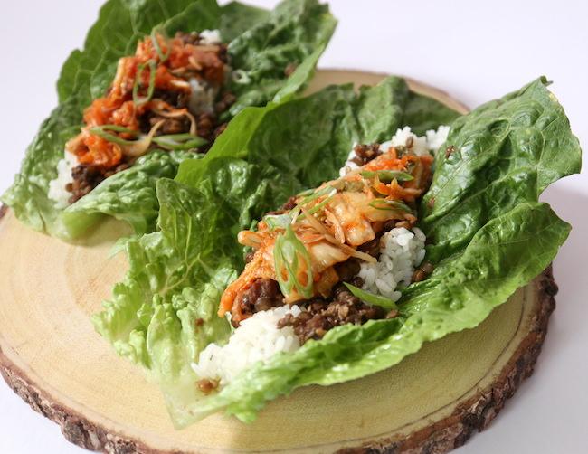 Vegano Bulgogi Lettuce Wraps