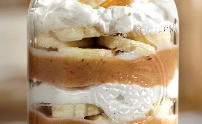 Banoffee Pie In a Jar {Vegan}