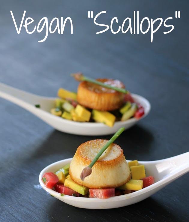 vegan scallops