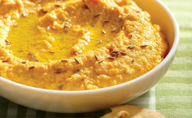 Aquafabulous! Roasted Carrot Dip