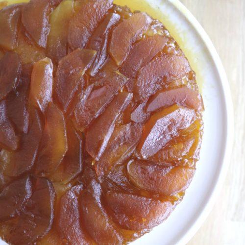 Julia Child's Apple Tarte Tatin Vegan