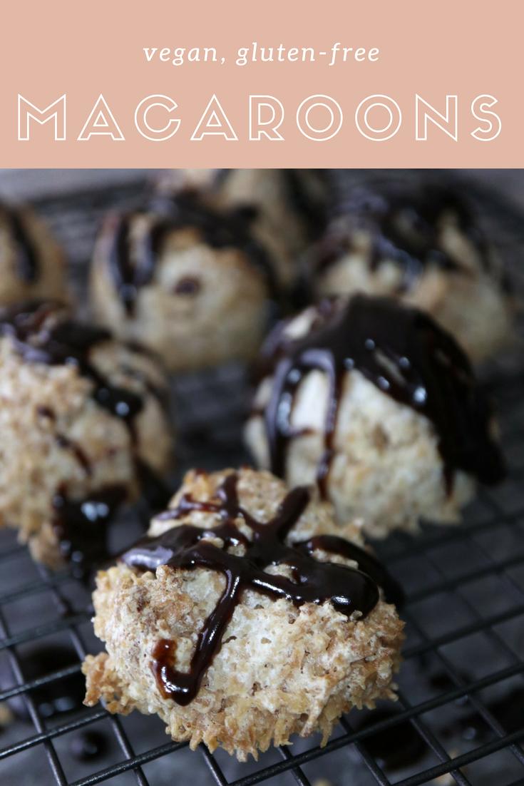 Coconut Macaroons {Vegan & Gluten-Free}