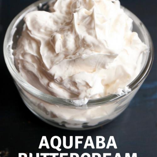 Aqufaba ButterCream Icing