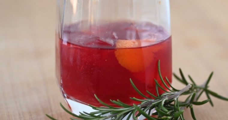 Canadian Christmas Cocktail