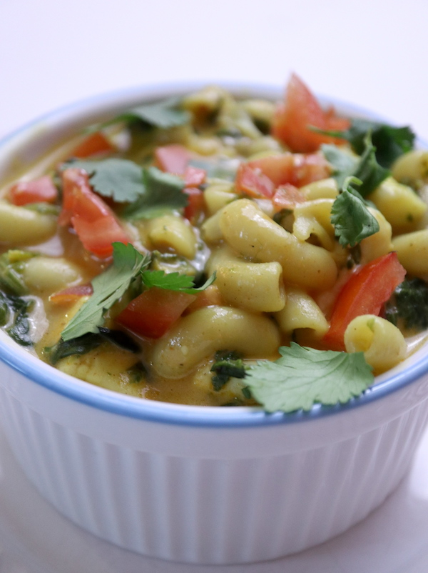 Indian-Spiced Mac & Cheese