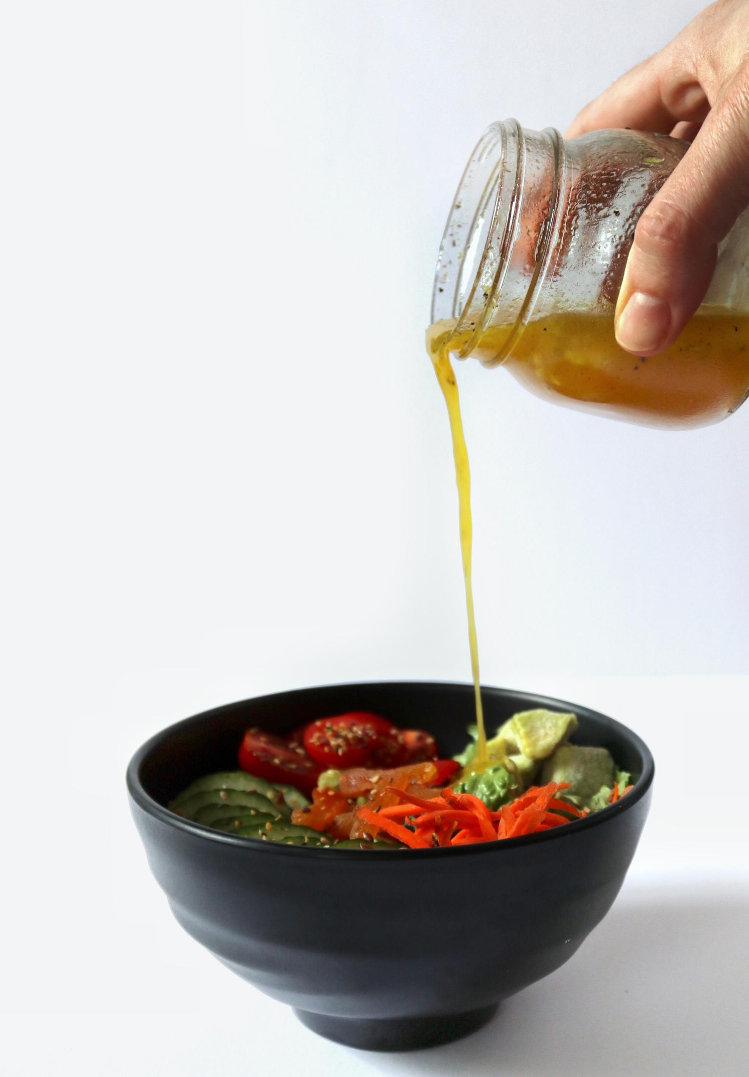 Easy Apple Cider Vinegar Salad Dressing