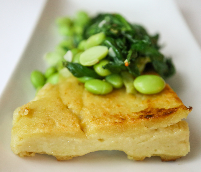 Chickpea Panisse Eat More Plants