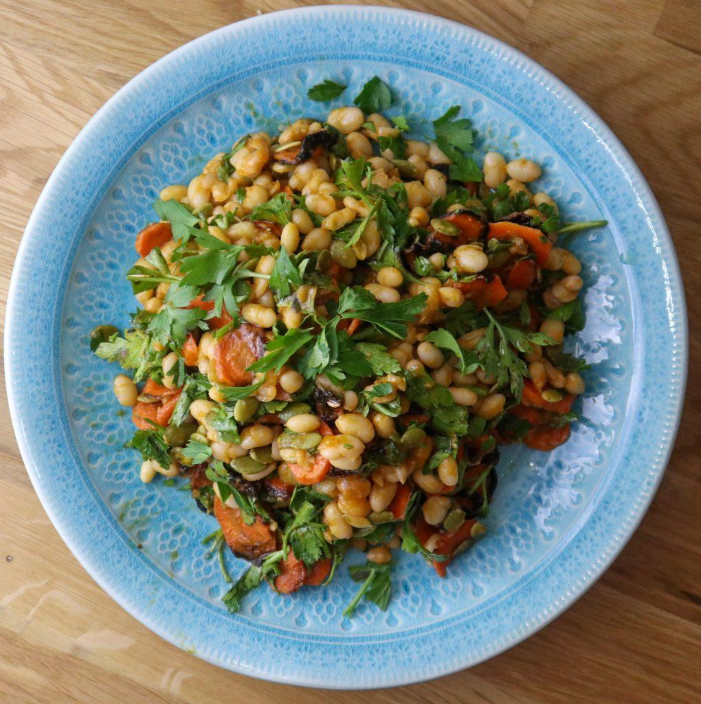Harissa Carrot Salad Eat More Plants
