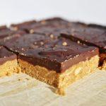 Vegan Gluten Free No Bake Peanut Butter Bars