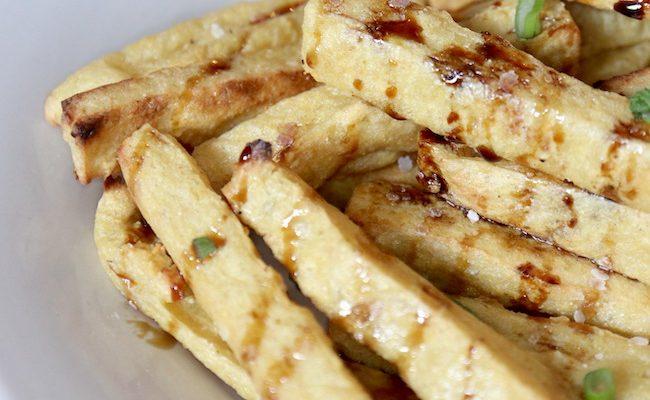 Chickpea Fries {Vegan}