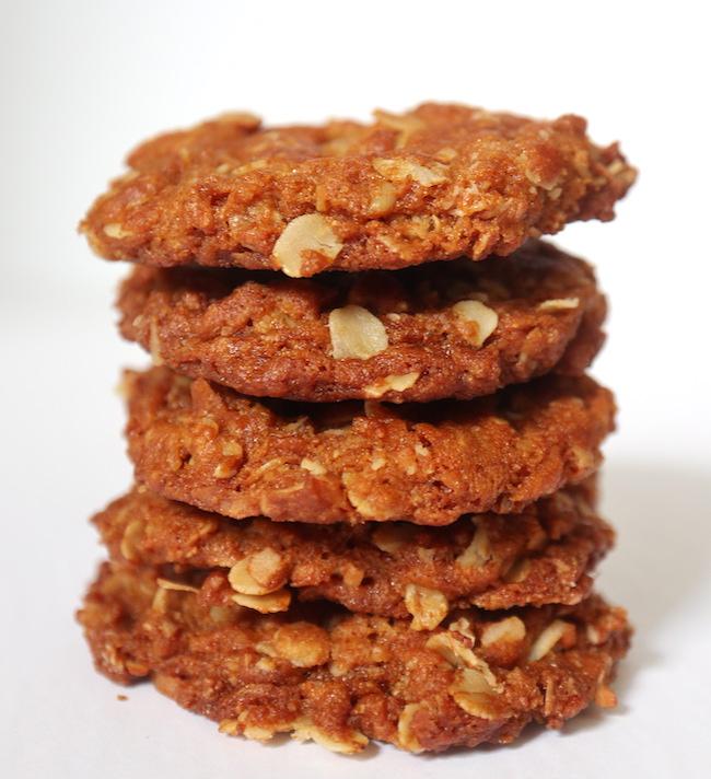 Anzac Biscuits {Vegan}