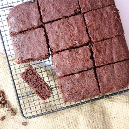 Gluten free cassava brownies