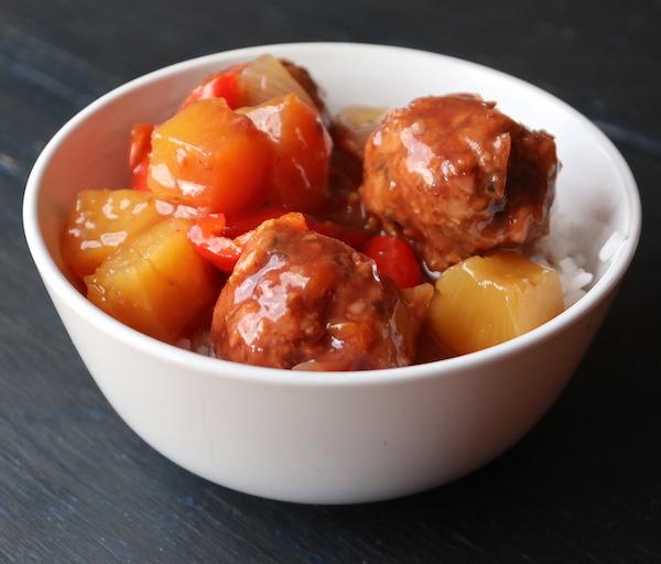 Vegan Sweet & Sour Meatballs