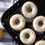 Lemon Donuts Vegan
