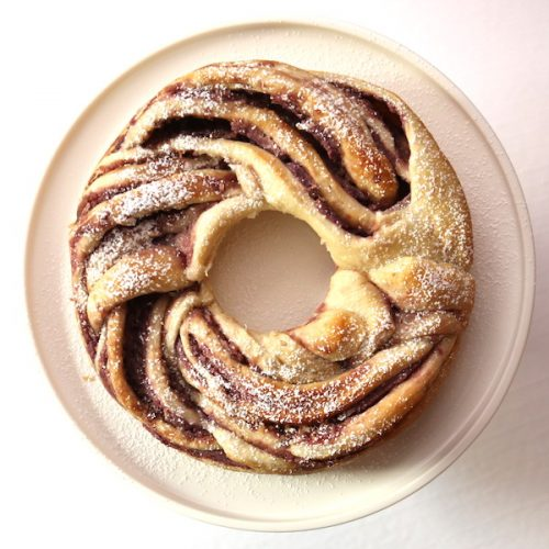 Vegan Ube Swirl Bread