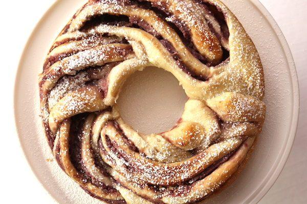 Ube Swirl Bread {Vegan}