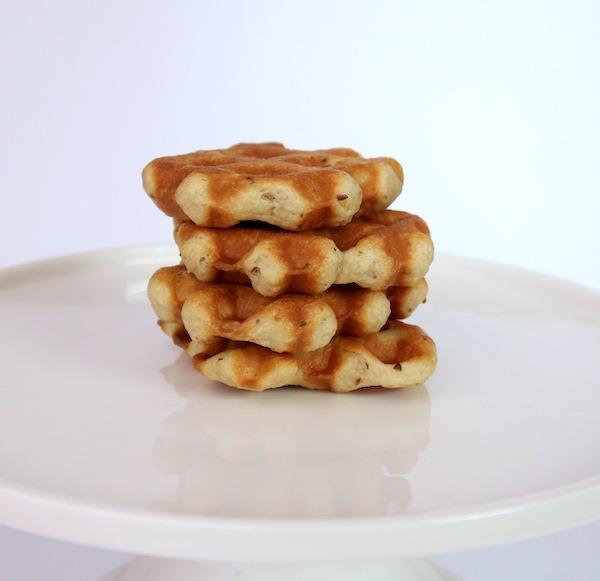 Vegan Yeasted Waffles