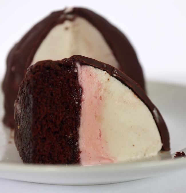 Vegan Ice Cream Bombe