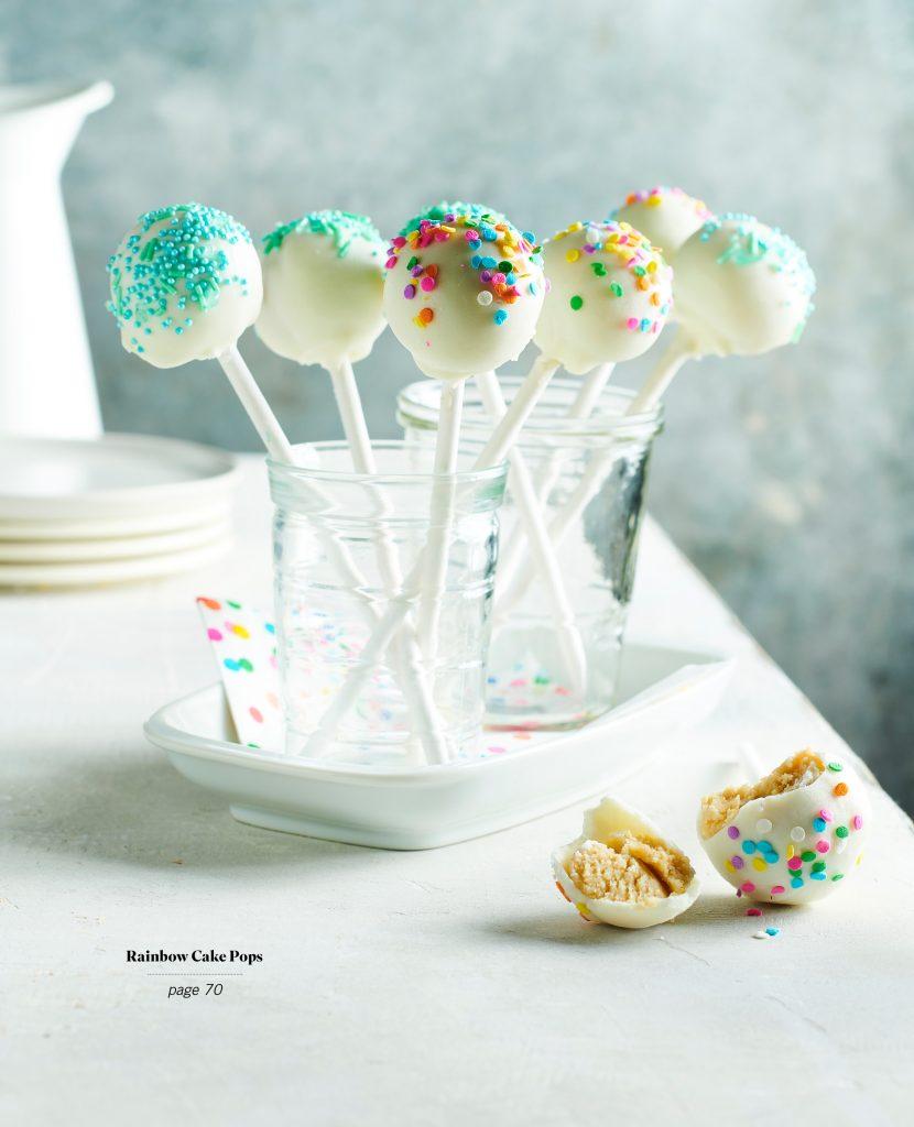 Rainbow Cake Pops from Vegan Baking Made Easy