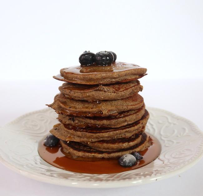 Vegan, Gluten-Free Buckwheat Pancakes