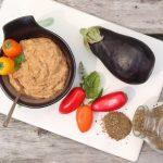 Smoky Roasted Eggplant Dip Vegan Gluten free